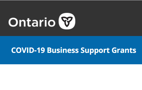 Ontario Small Business Support Grant